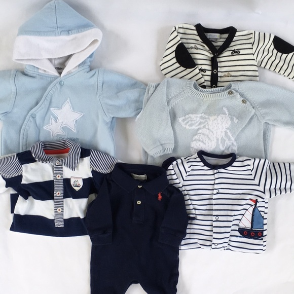 "Ralph Lauren Other - 6 Piece 3 Month ""Baby Blue"" Collection."